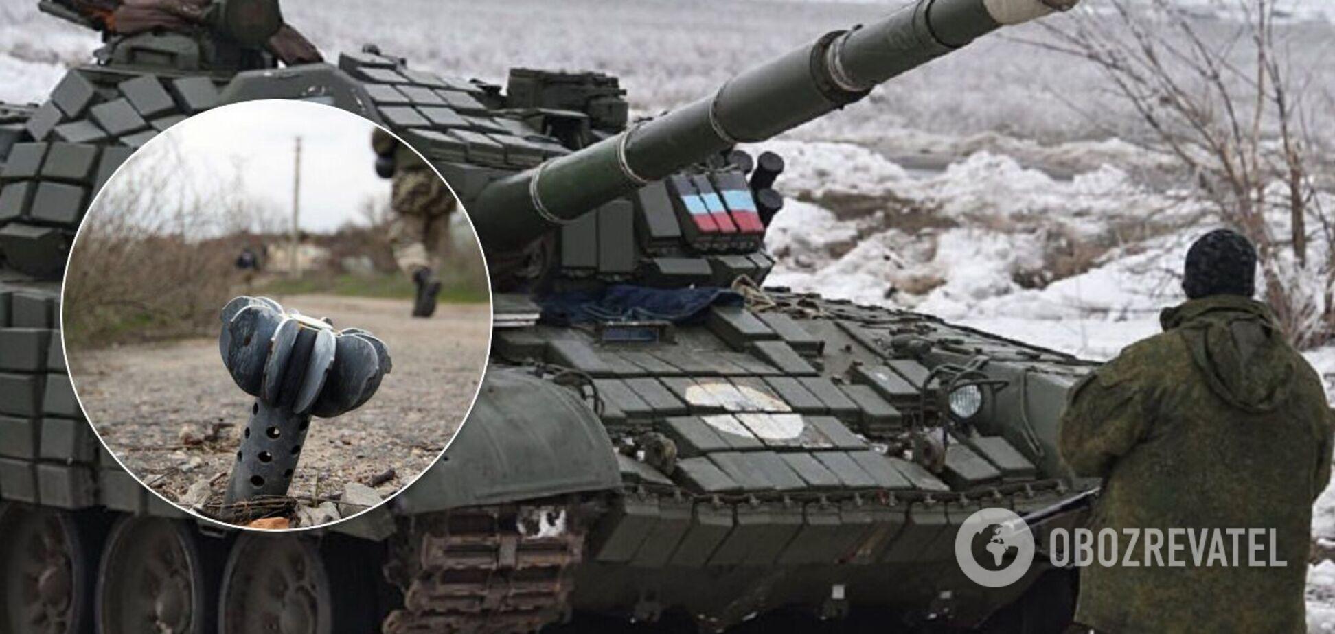 Окупанти відкрили вогонь з мінометів і пригнали танки до лінії розмежування