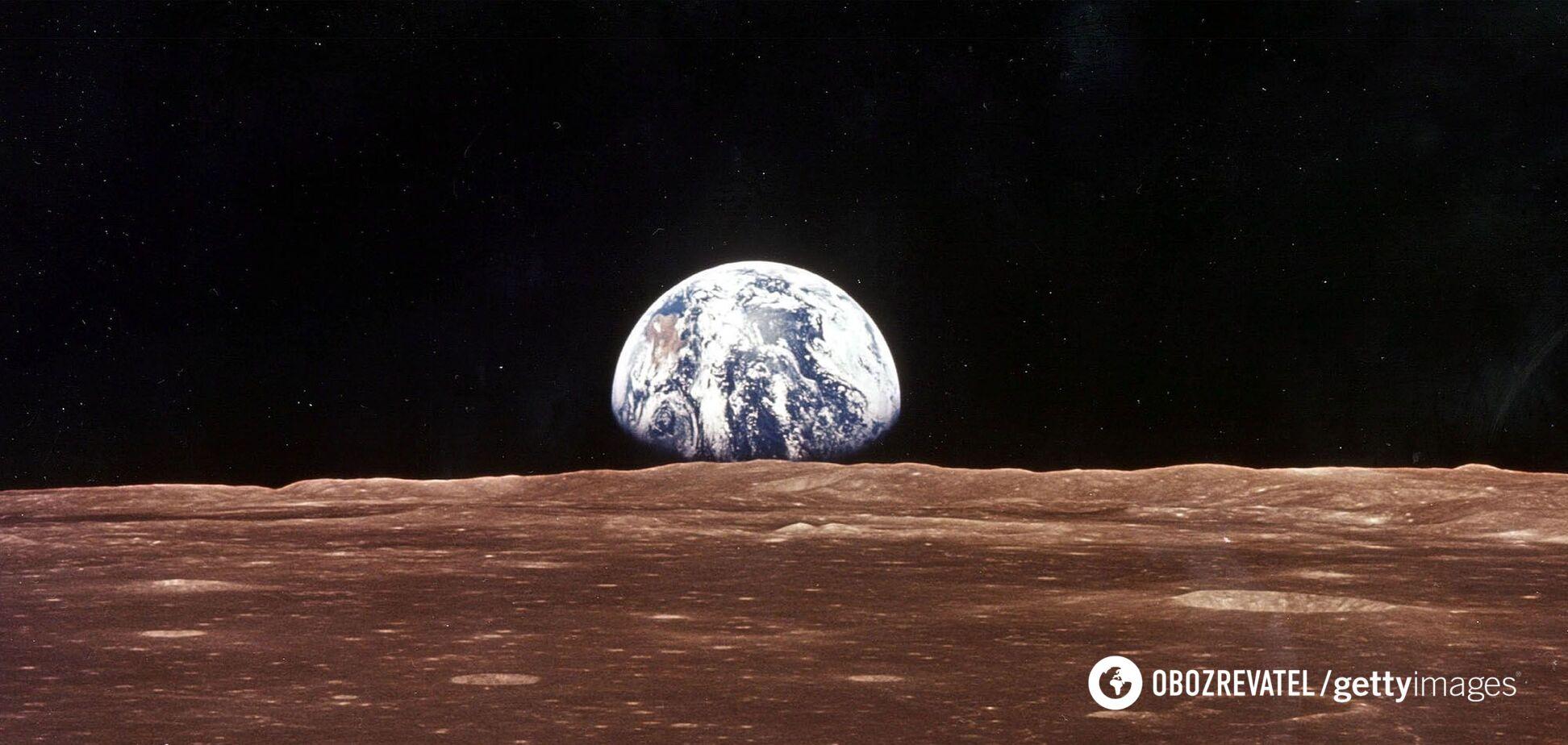 З'явилося відео польоту над Місяцем на висоті 100 км