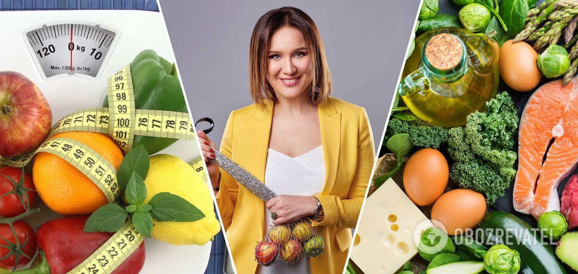 Дієтологиня Наталія Самойленко відповіла на головні питання про схуднення