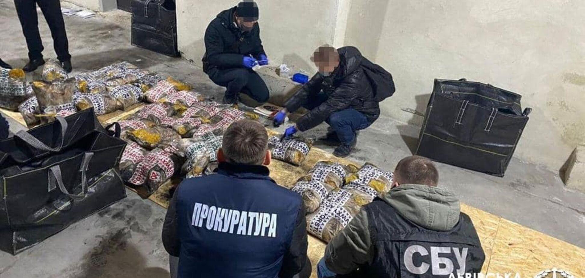 Во Львове изъяли рекордную партию героина на 2,3 млрд грн. Фото
