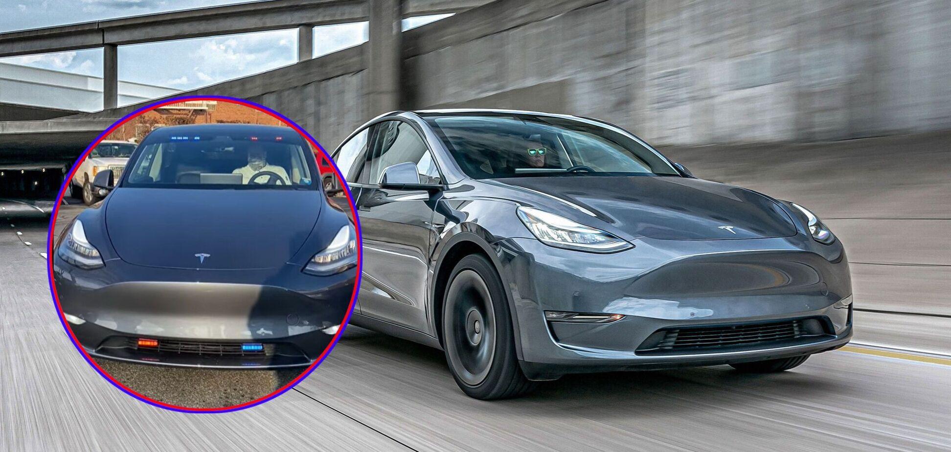 Американські копи поповнили автопарк Tesla