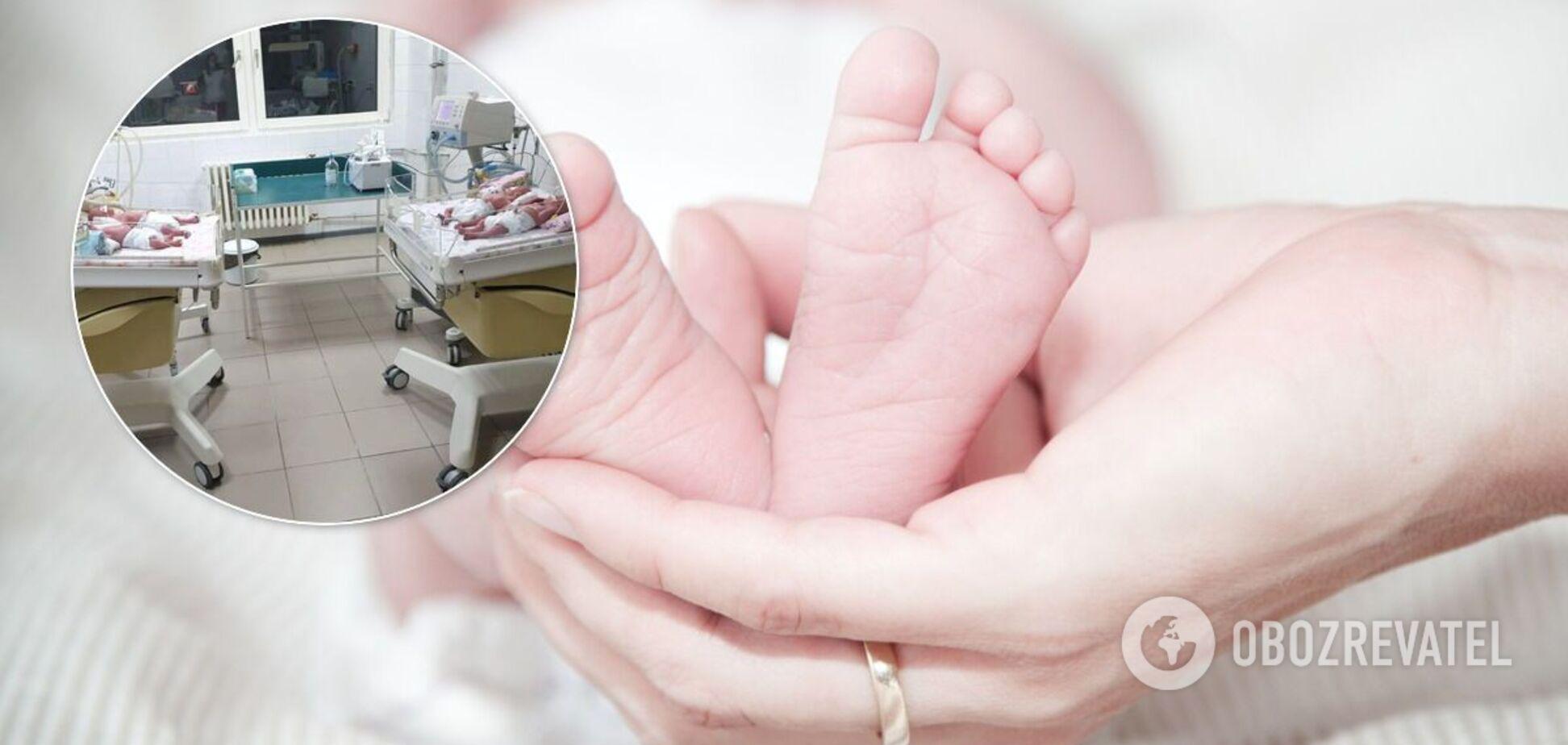 20-річна українка народила четвірню в Ужгороді після унікальної операції. Фото