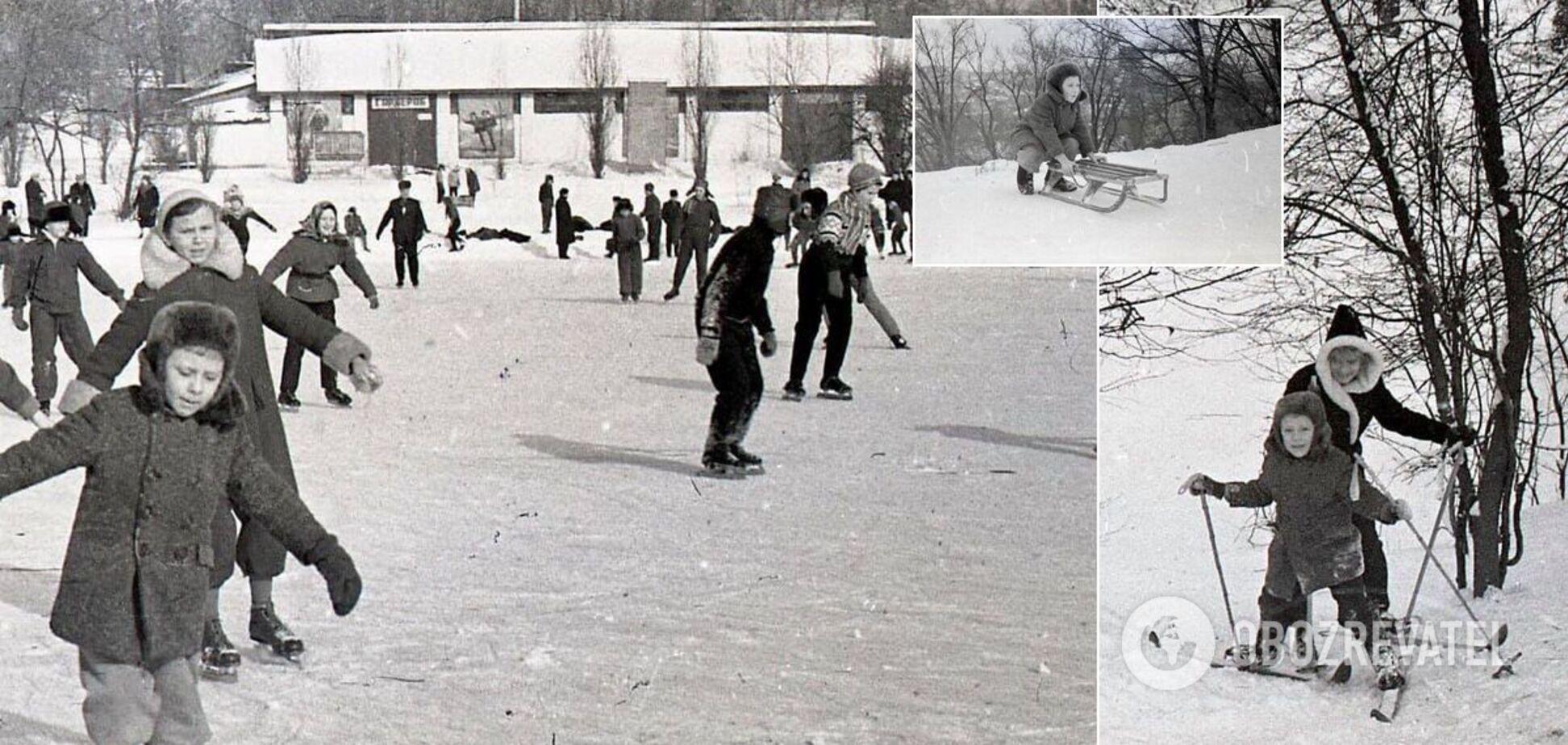 В сети показали популярный при СССР каток на 'верхнем поле стадиона' в Киеве. Фото
