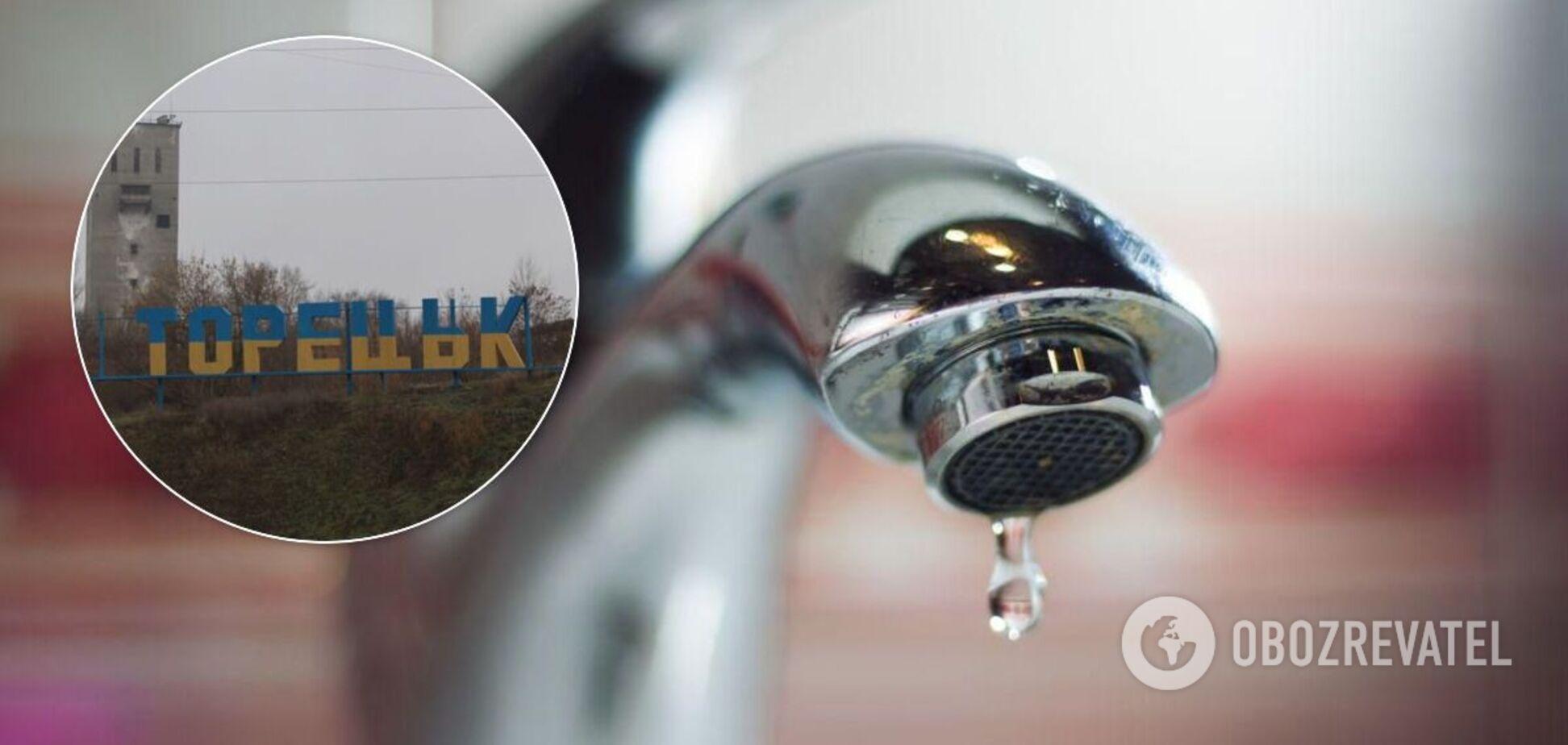 На Донбасі трапилася масштабна аварія на водопроводі: без води залишилося 38 тисяч осіб