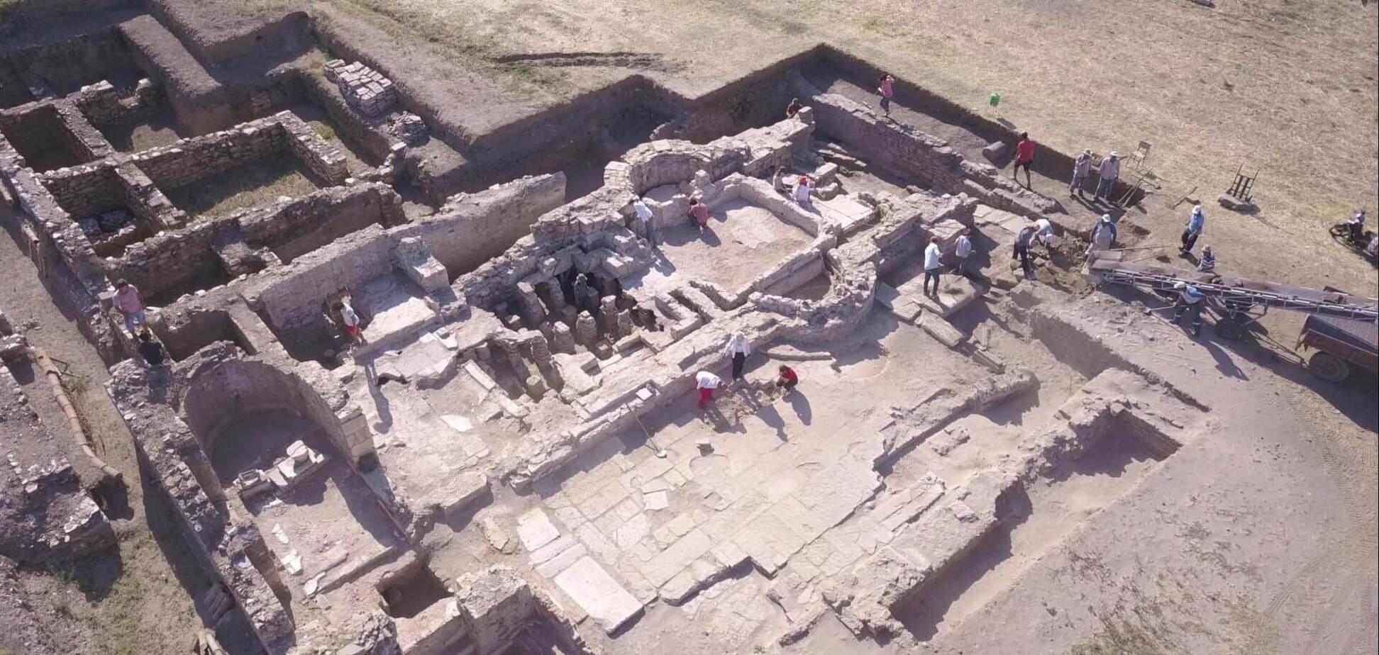В Турции раскопали древние цистерны для воды