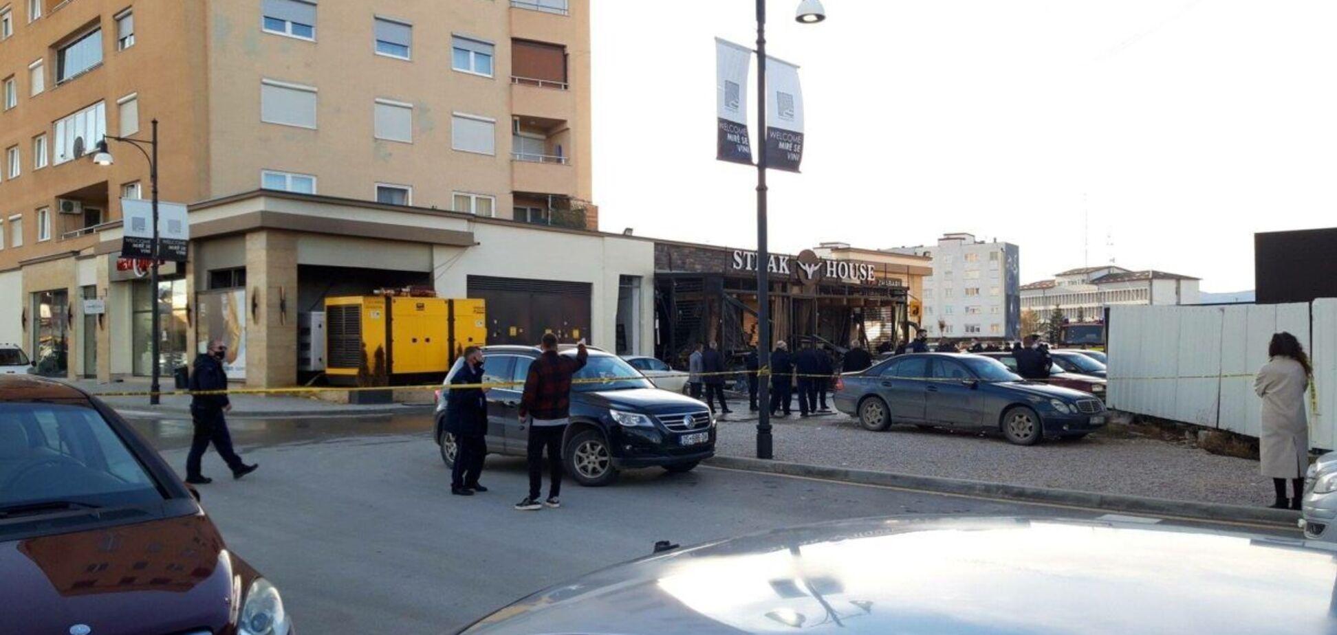 У Сербії вибухнуло кафе
