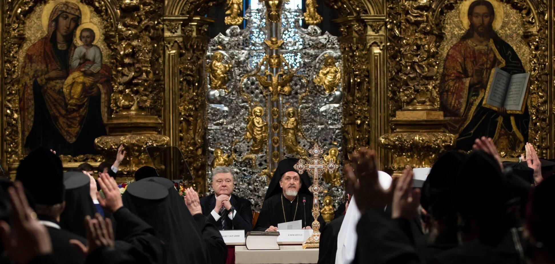 В канун Рождества Украинская Церковь стала автокефальной