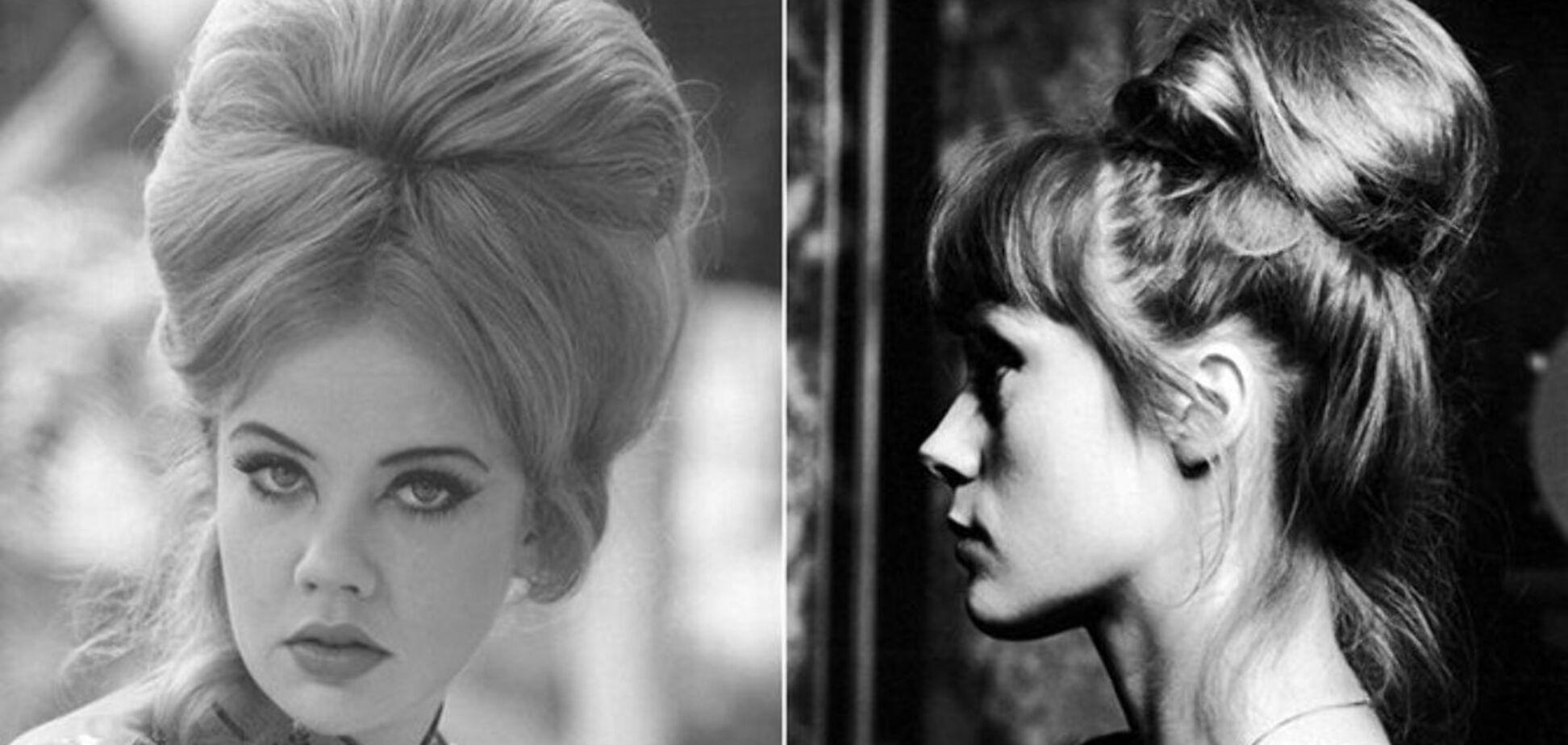 Високі зачіски були трендом в СРСР