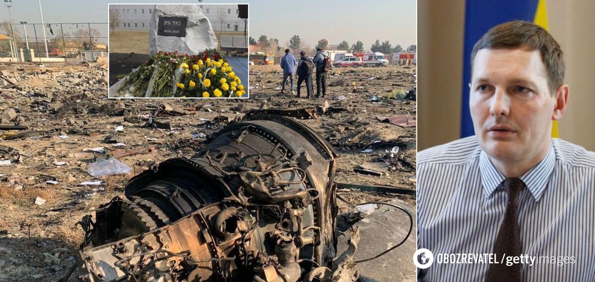 В МИД объяснили важность отчета по катастрофе самолета МАУ, который предоставил Иран