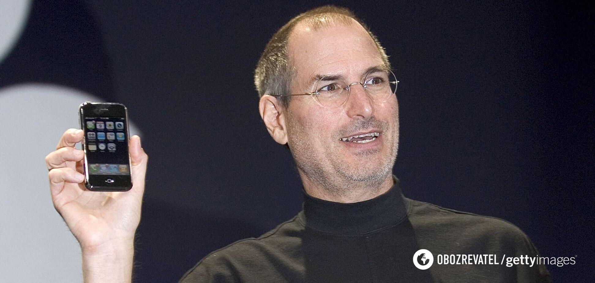13 років тому Apple показала перший iPhone: як він виглядав. Фото та відео