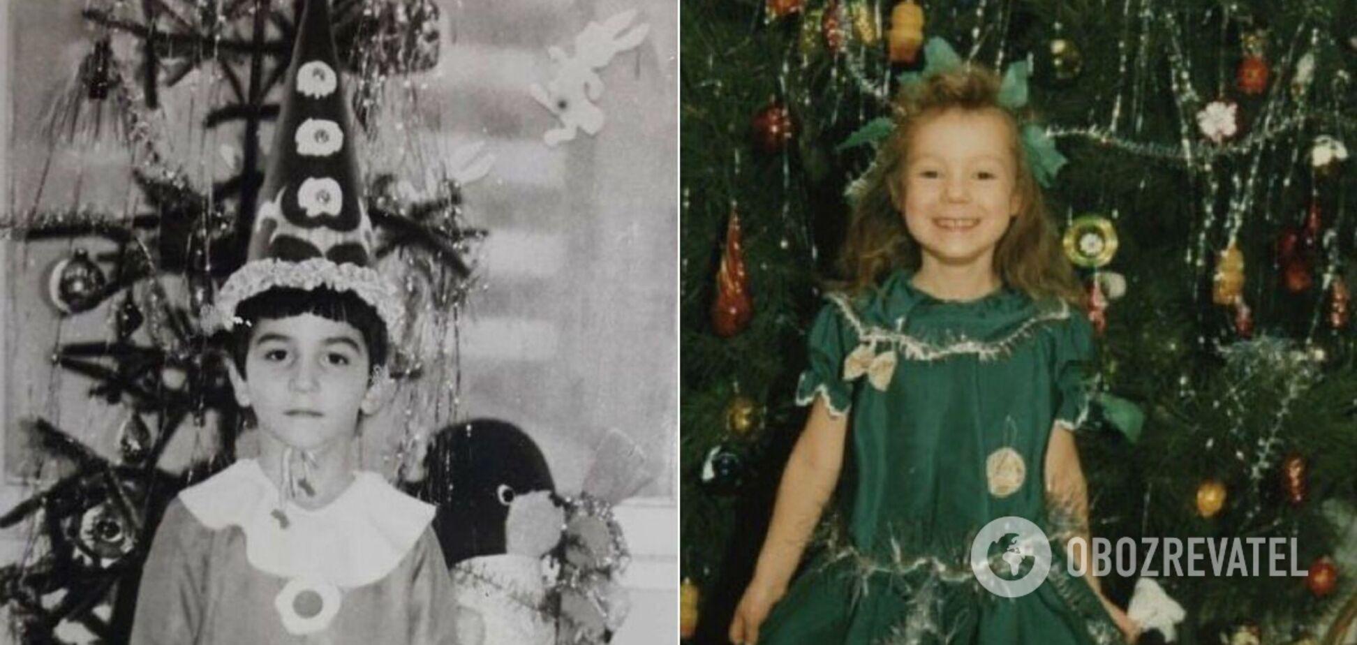 Как выглядели украинские звезды на детских праздниках: в сети показали архивные снимки