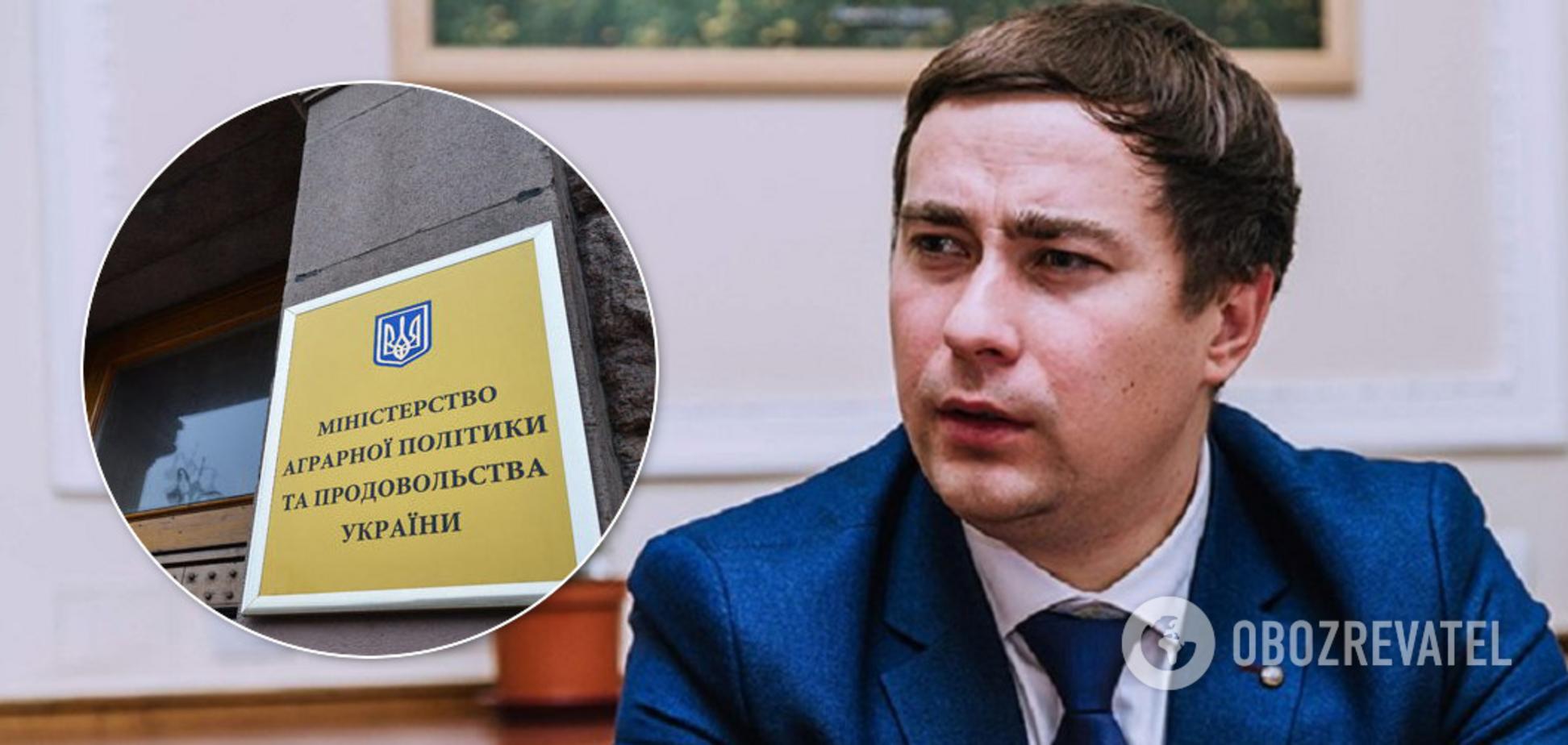 Міністр аграрної політики Роман Лещенко
