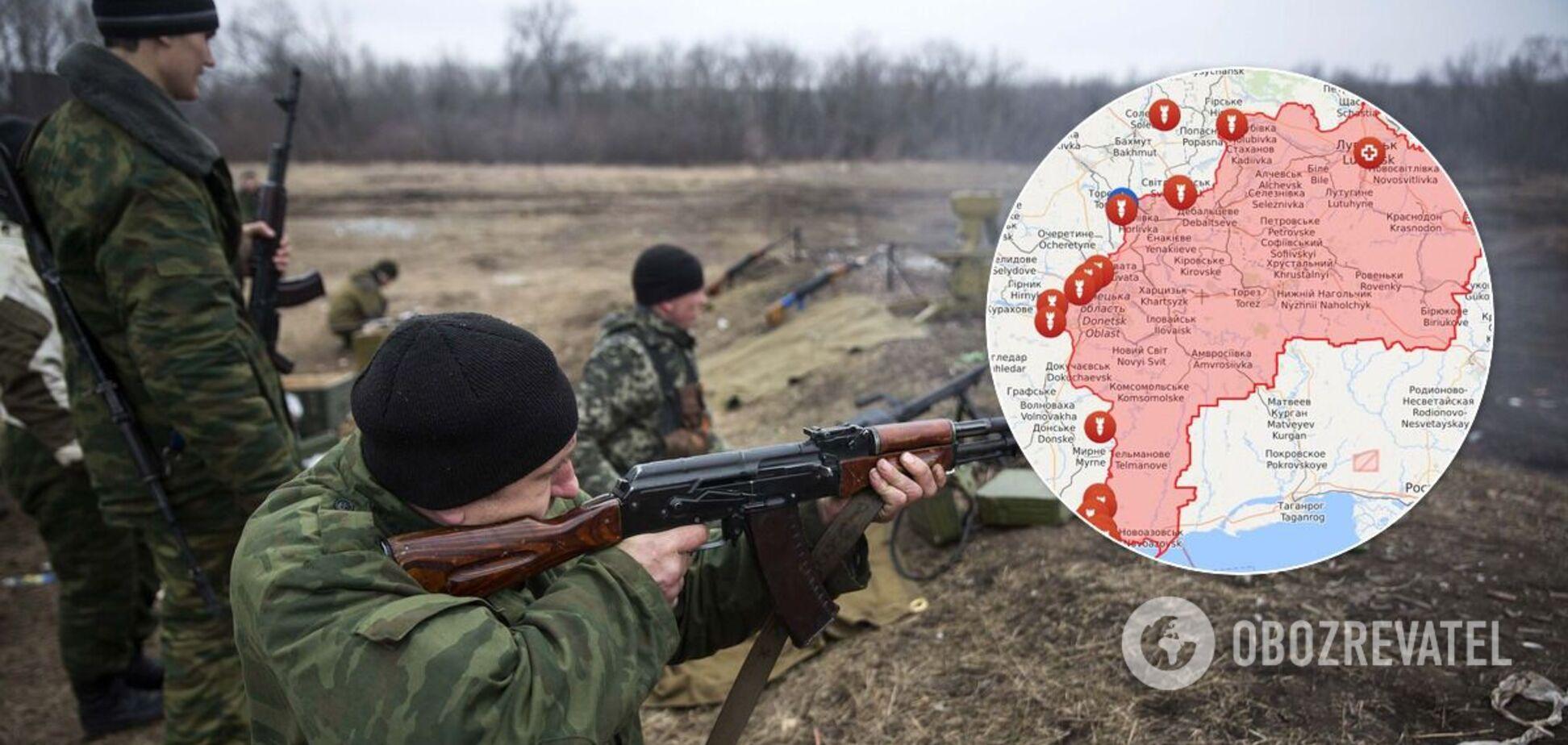 Формування РФ п'ять разів порушили режим припинення вогню