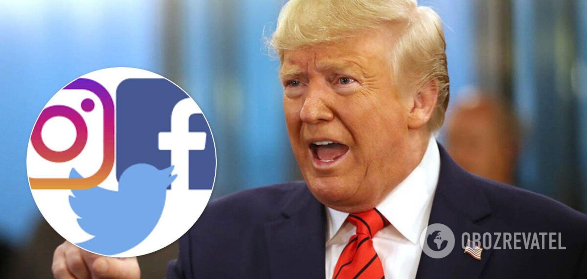Трампа заблокировали в соцсетях: Цукерберг сделал заявление