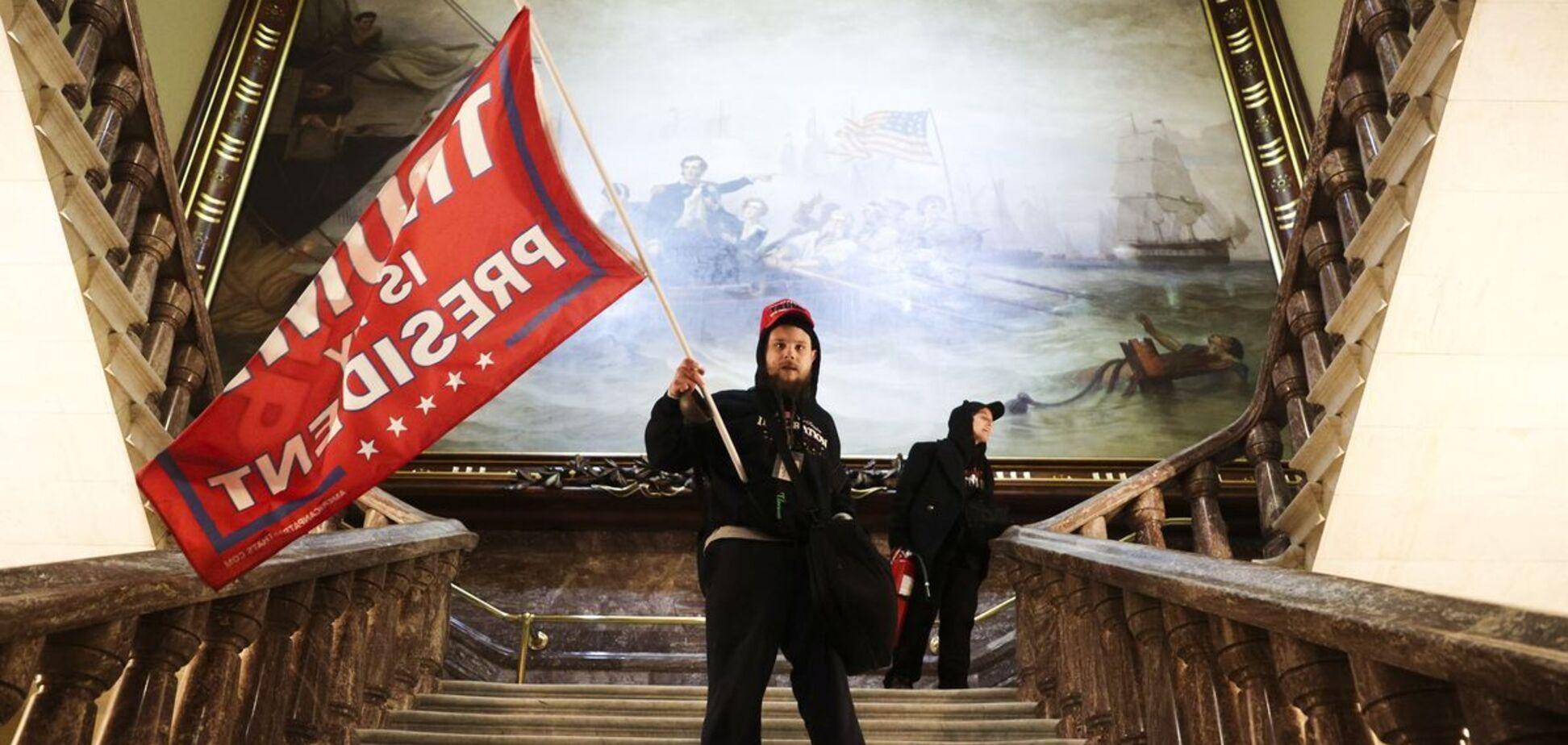Протест в будівлі Конгресу