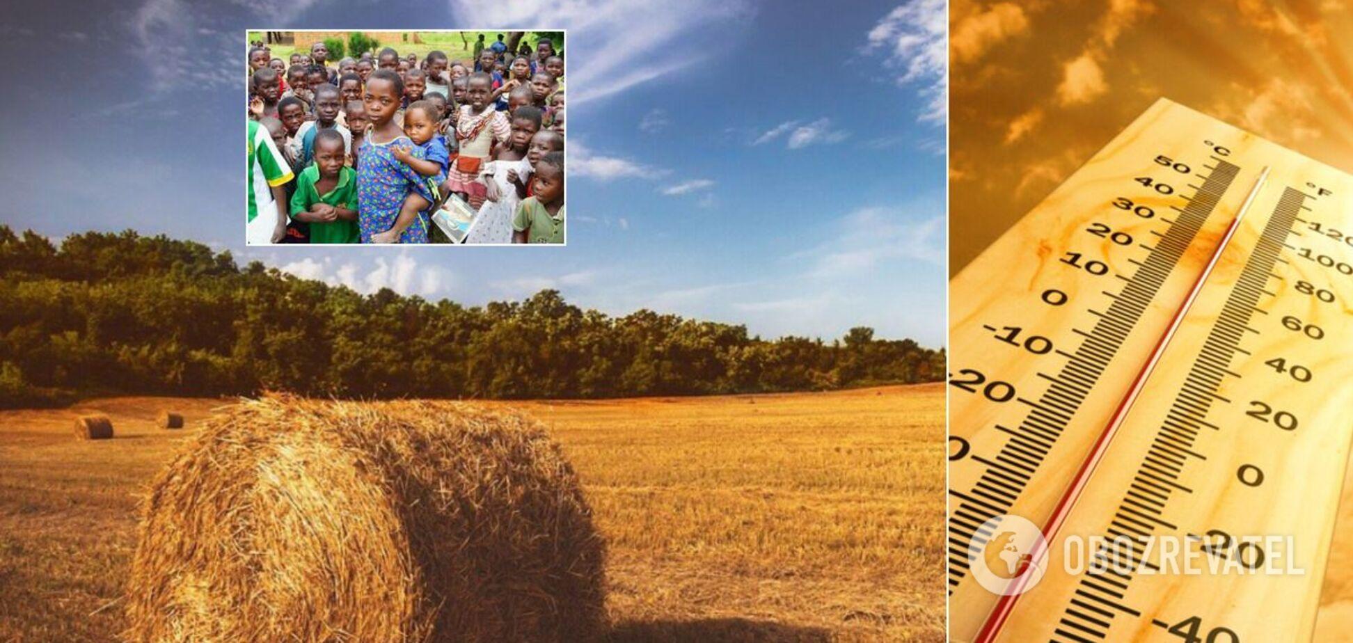 В Украину хлынут миллионы мигрантов, а села будут вымирать: к чему приведут изменения климата. Прогнозы