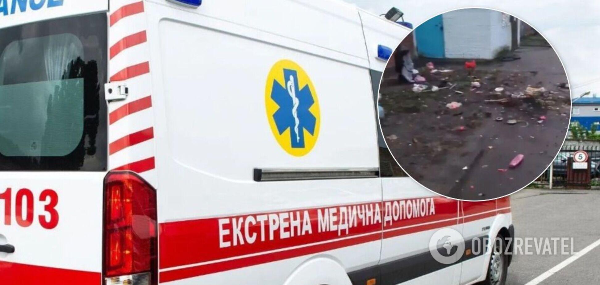 Викинутого з вікна у Києві хлопчика переведуть з реанімації