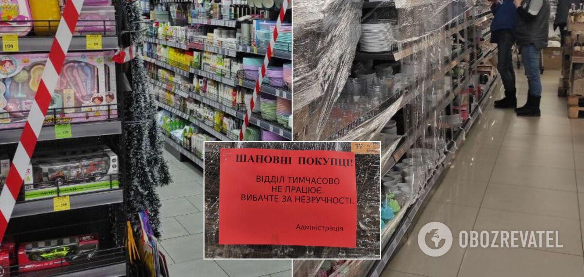 Як ринки та магазини Києва дотримуються карантину: фоторепортаж