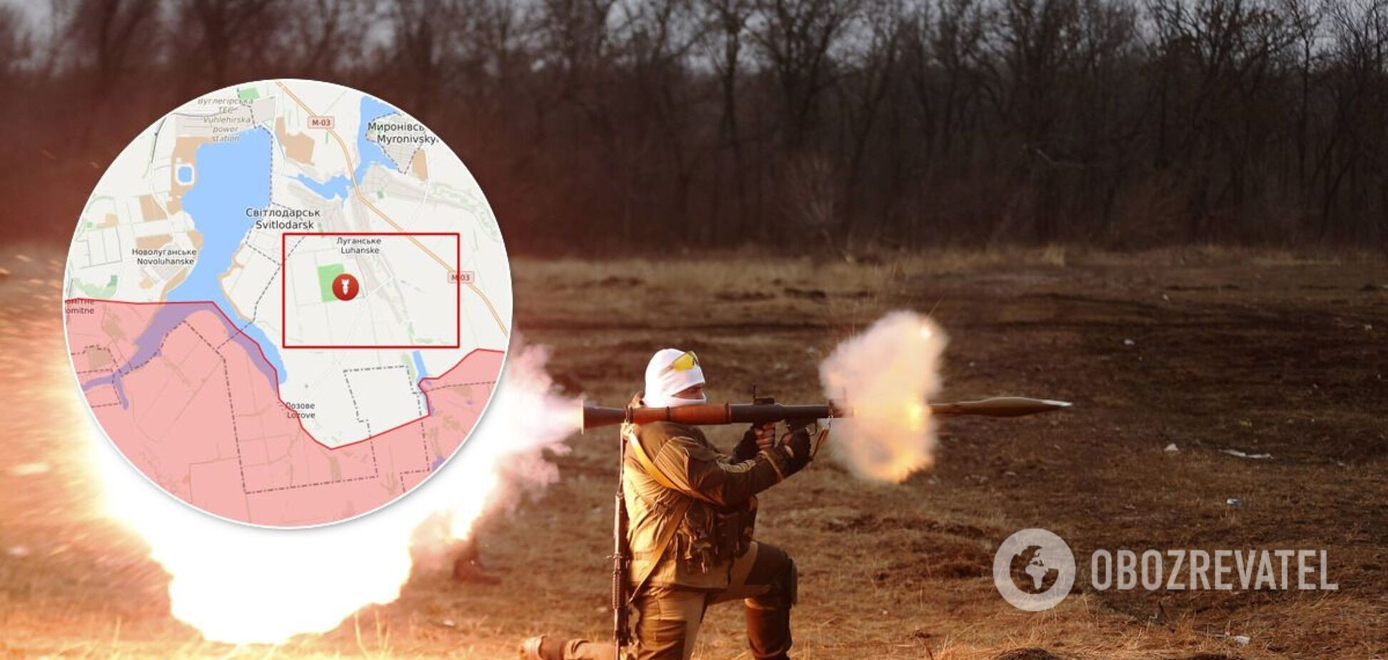 Терористи відкрили вогонь з РПГ в бік ЗСУ