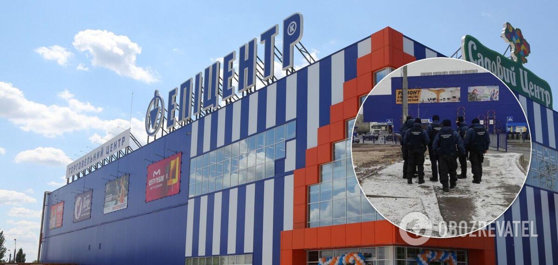 'Эпицентр' в Киеве соблюдает карантин, рядом заметили Нацгвардию. Фото