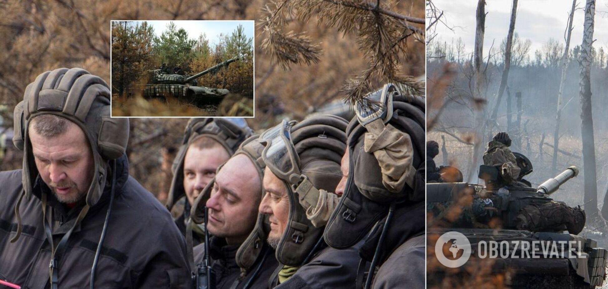 Бійці ЗСУ влаштували навчання на танках у зоні ООС: до провокацій Росії готові. Фоторепортаж
