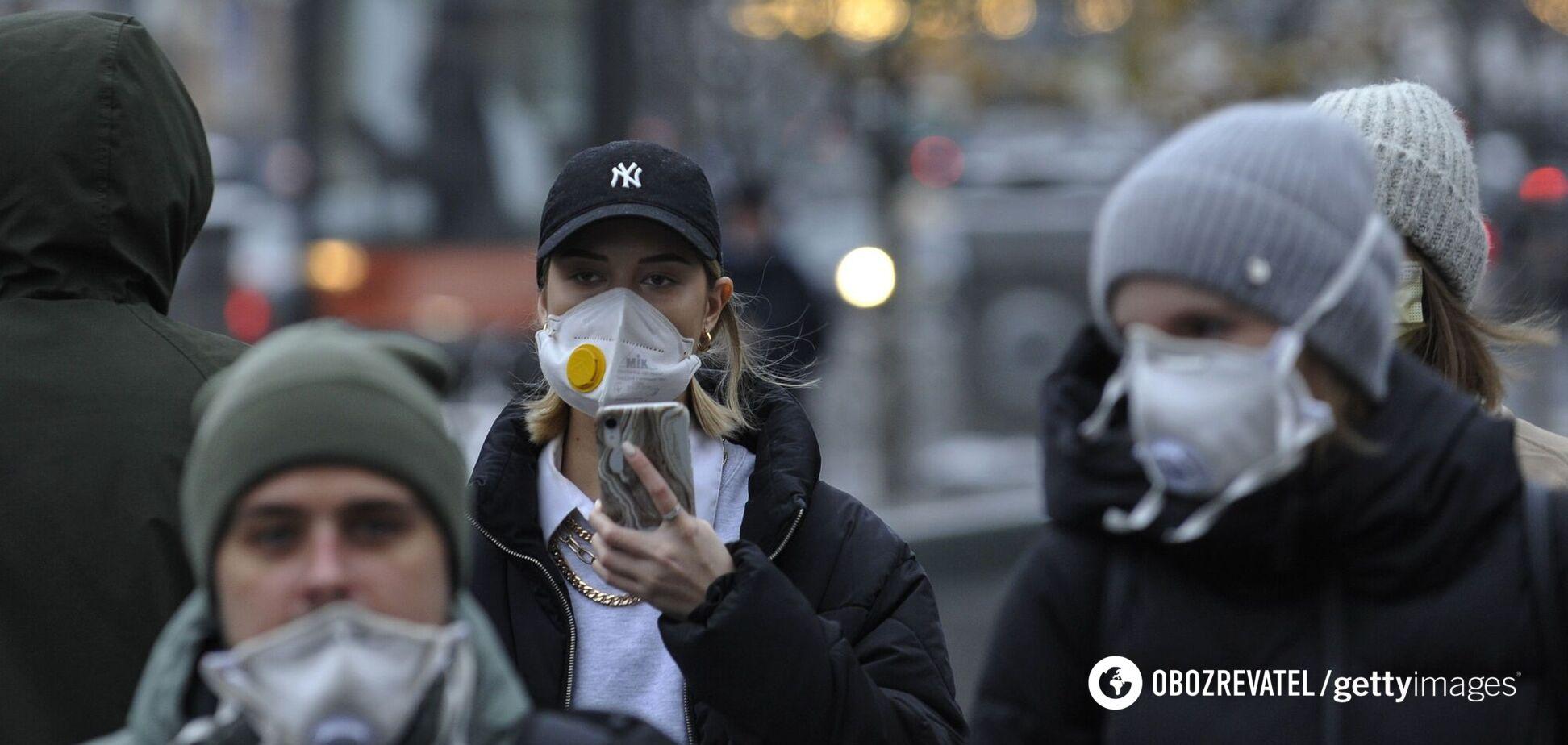 Захворюваність в Україні може вирости вже наприкінці січня