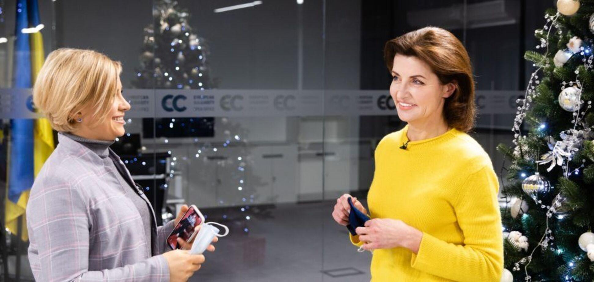Марина Порошенко дала интервью журналистке Юлии Литвиненко