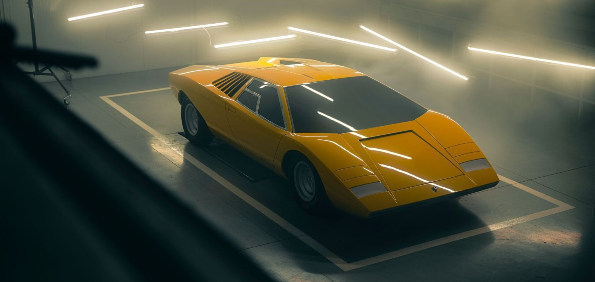 Lamborghini вернула к жизни первый Countach