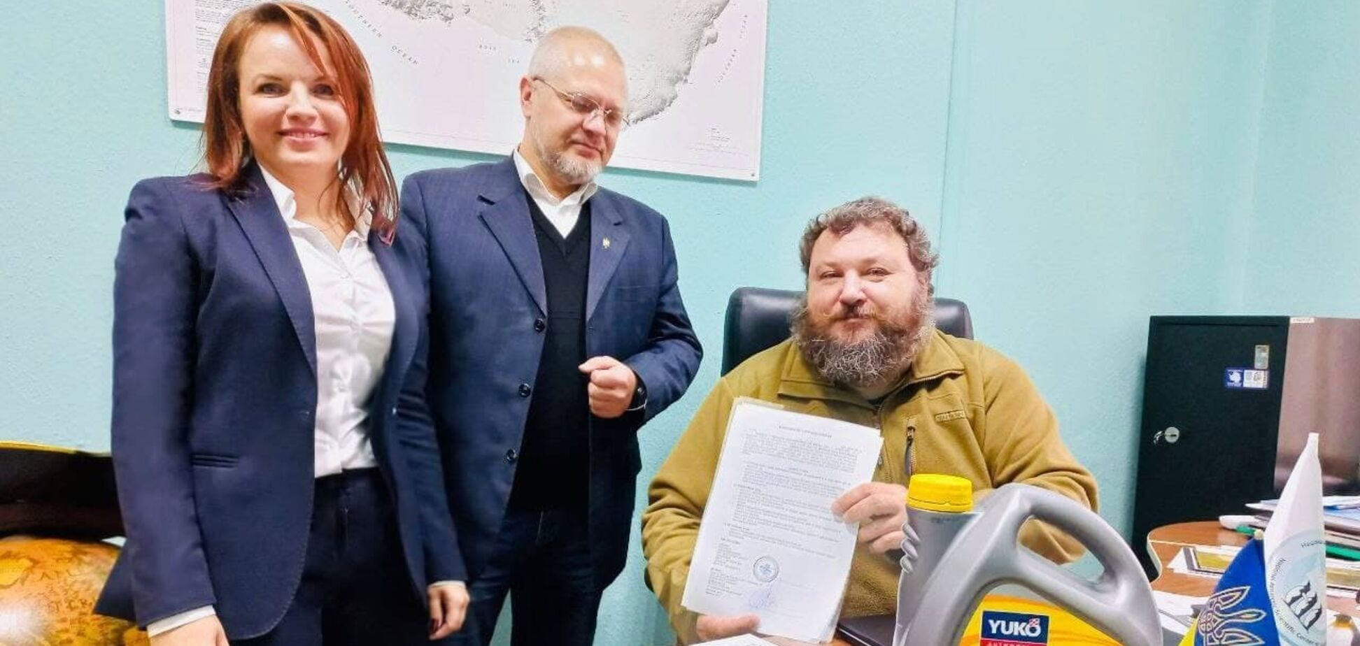 Моторна олива YUKO забезпечуватиме життєдіяльність станції 'Академік Вернадський'