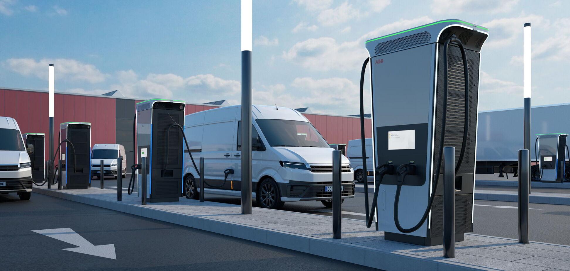 Концерн АВВ представил зарядную станцию на 360 кВт