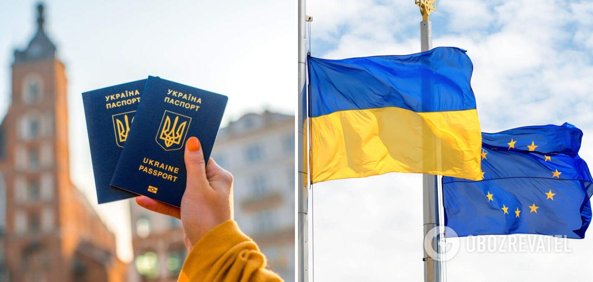 В СМИ появилась информация, что Украина может потерять безвиз с ЕС