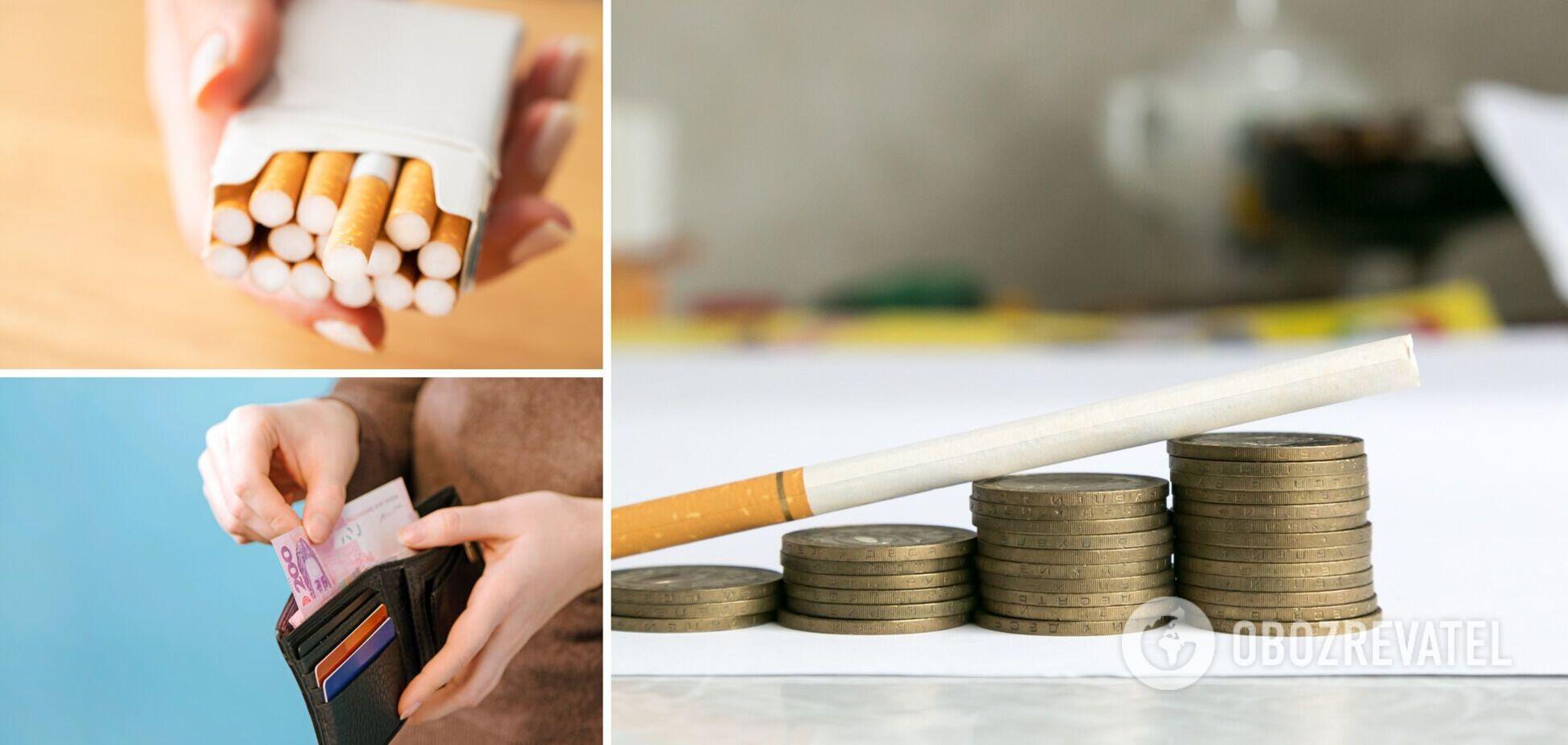 Сигареты в Украине будут дорожать в ближайшие годы