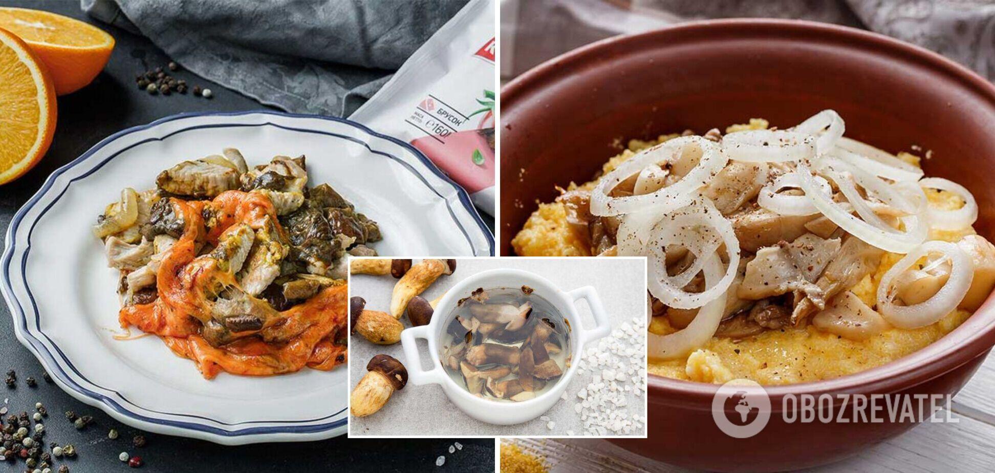 Страви з білими грибами: оригінальні рецепти