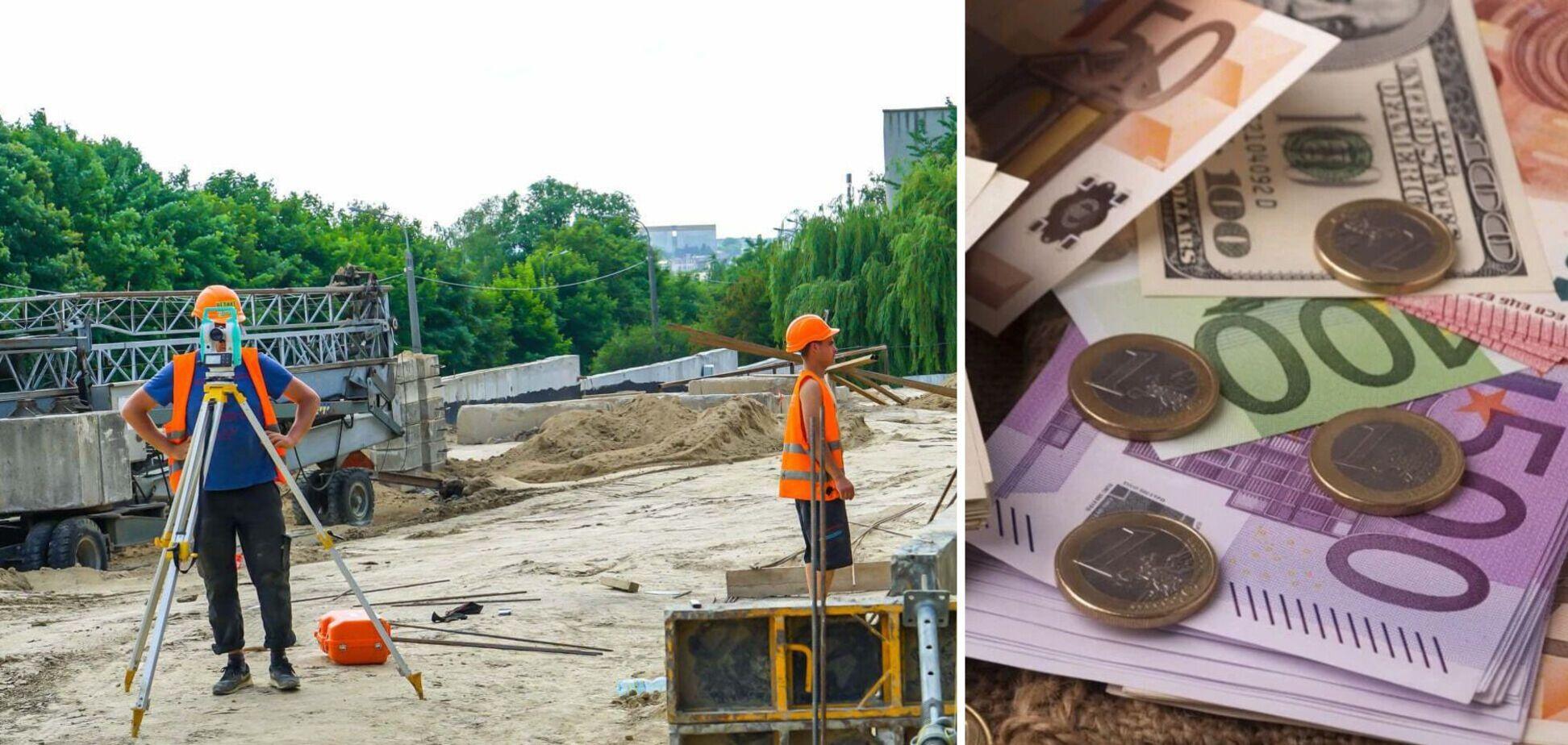 Будівельники в Європі отримують у рази більше