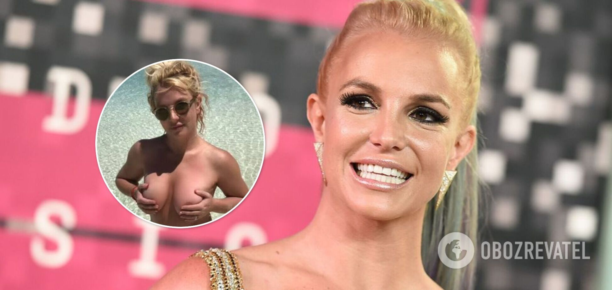 Бритни Спирс устроила голую фотосессию и засветила пышную грудь. Фото