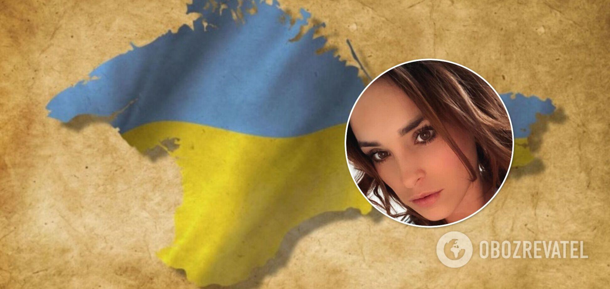 Тіктокерка з Миколаєва, яка назвала Крим російським, після скандалу зняла патріотичне відео