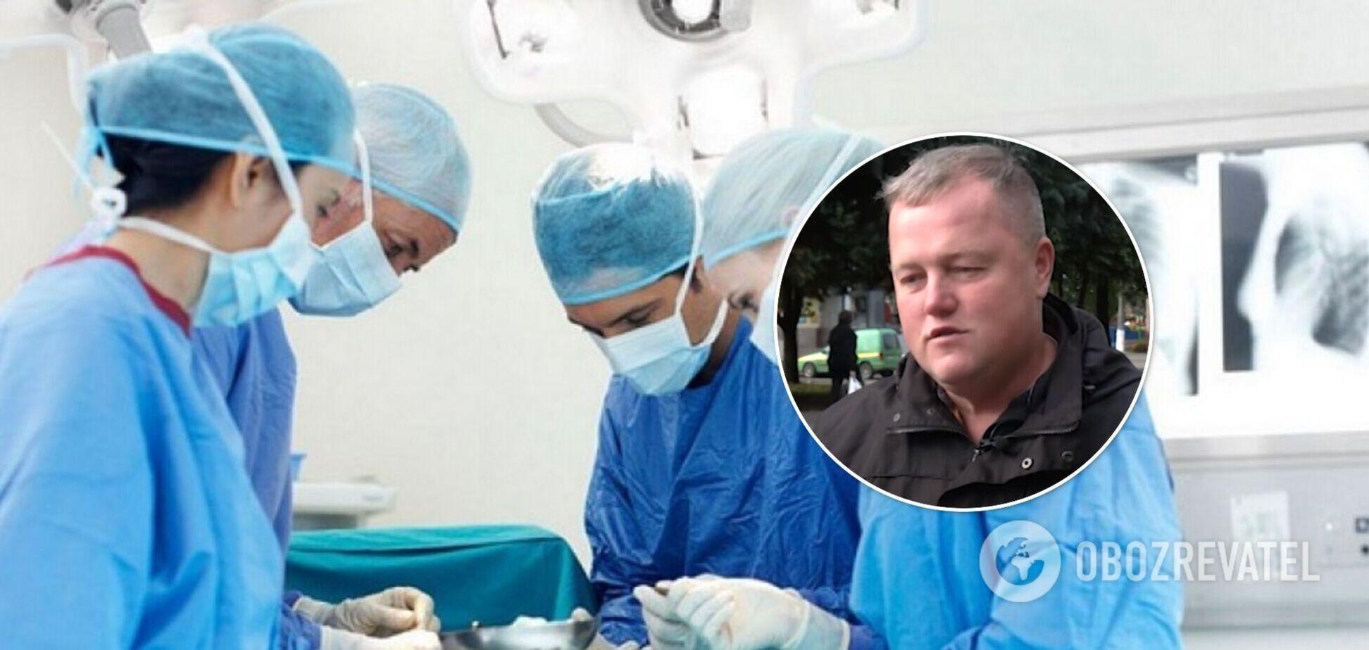 Українець, який отримав донорське серце, розповів, як почувається через 9 місяців після операції. Відео