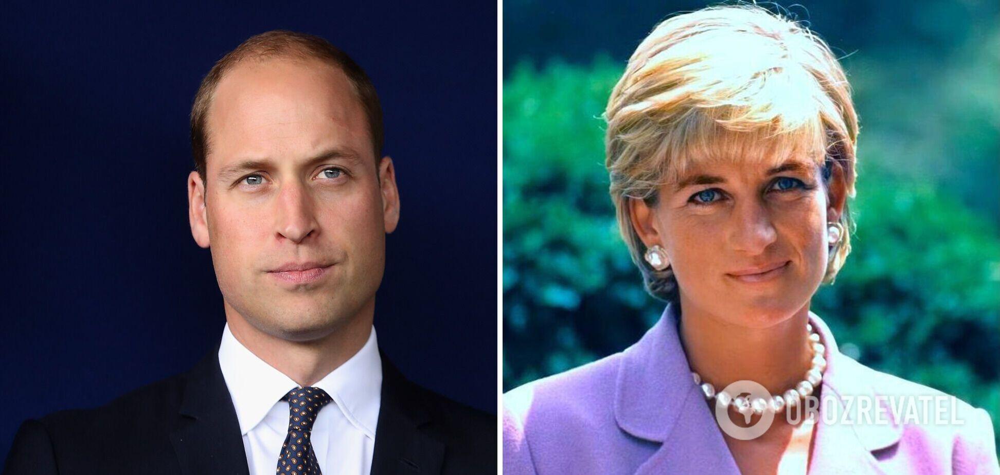 Принц Уильям показал трогательное фото принцессы Дианы