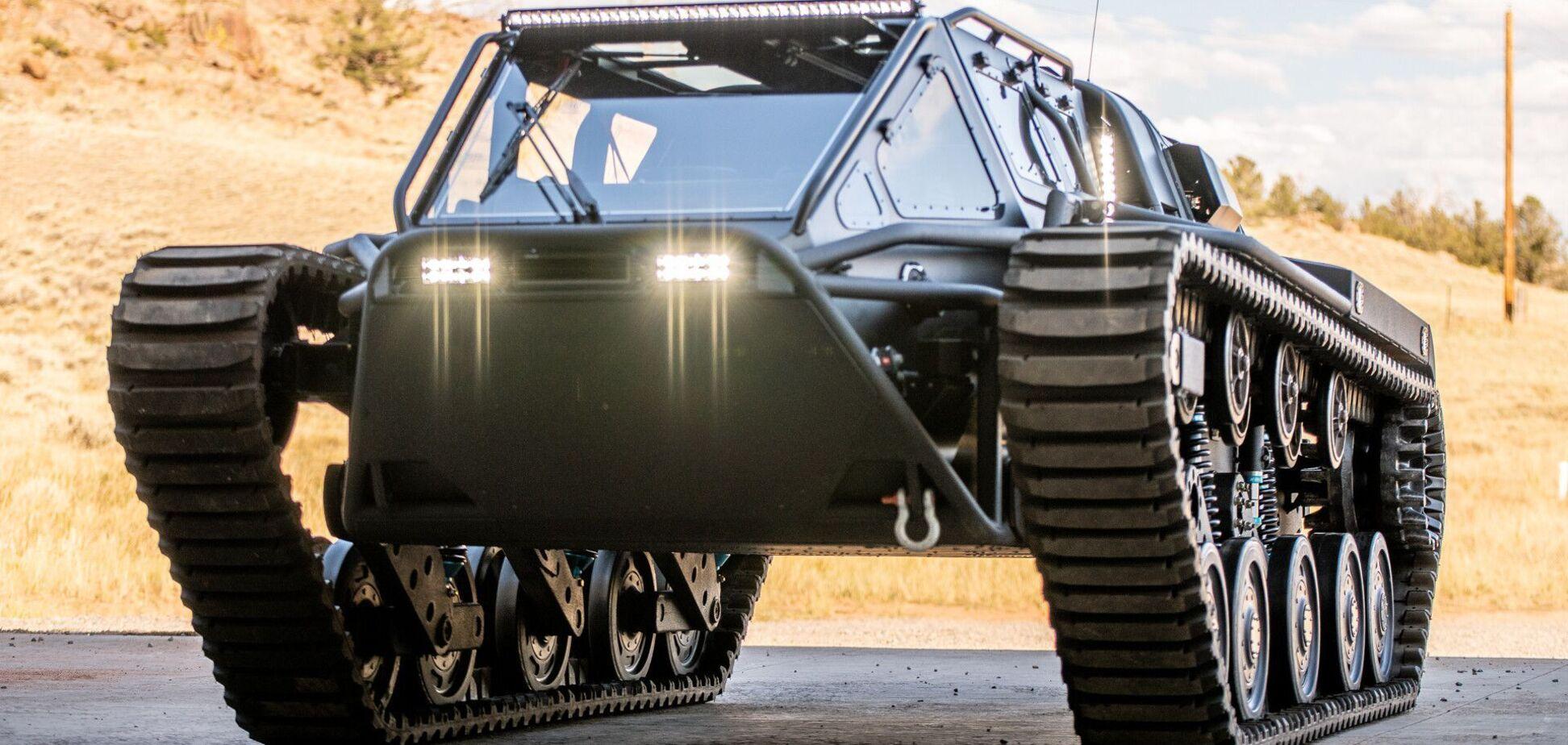 Howe & Howe показала танк для сибаритов. Видео