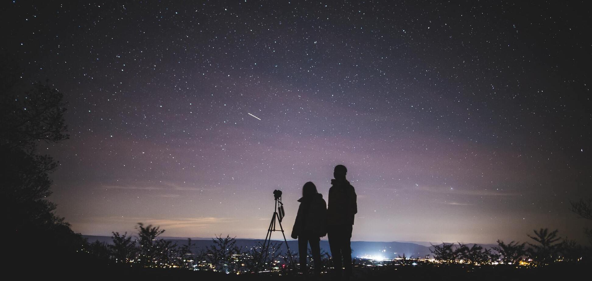 Ориониды и Дракониды особенны яркими метеорами
