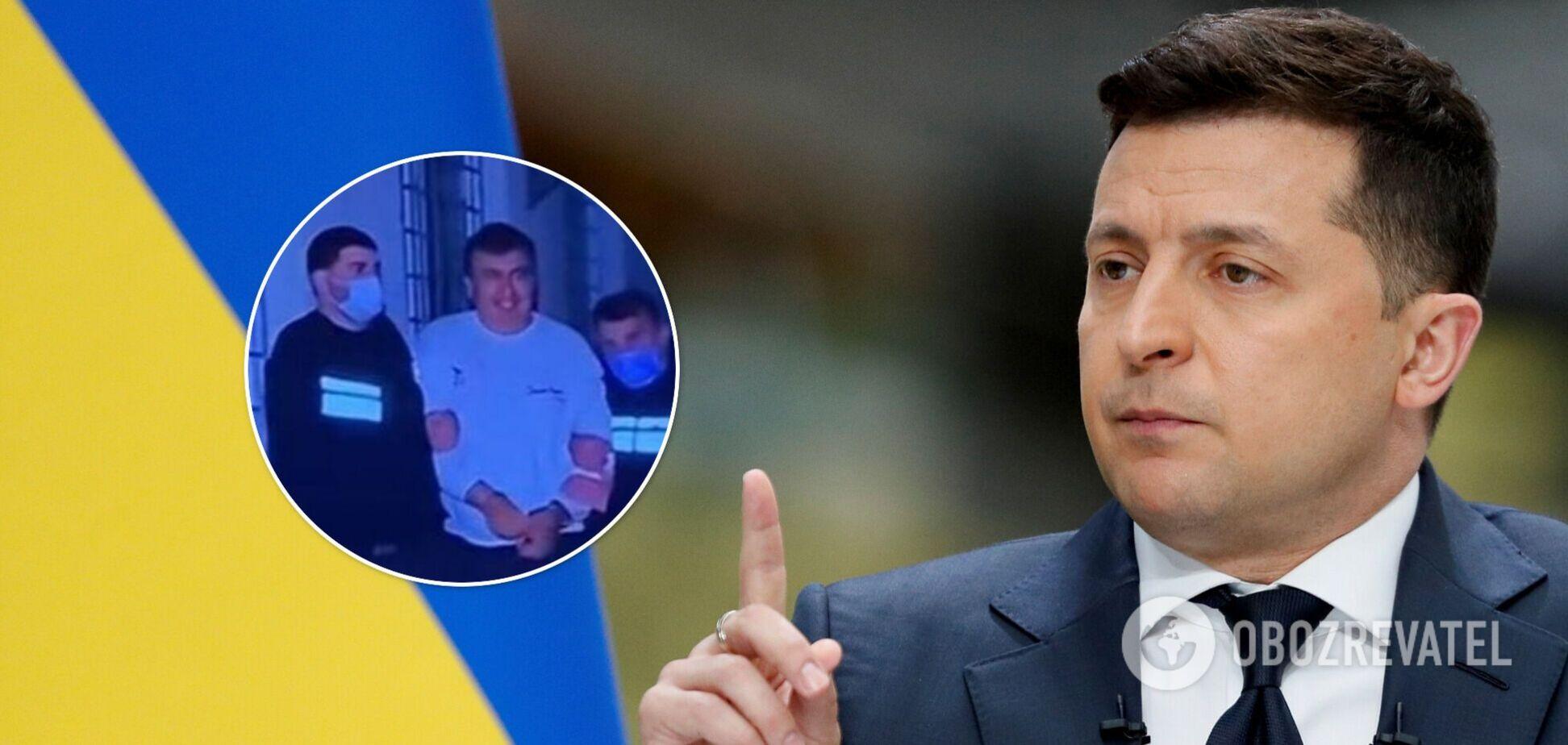 У Зеленского отреагировали на задержание Саакашвили: Украина призывает объяснить причины
