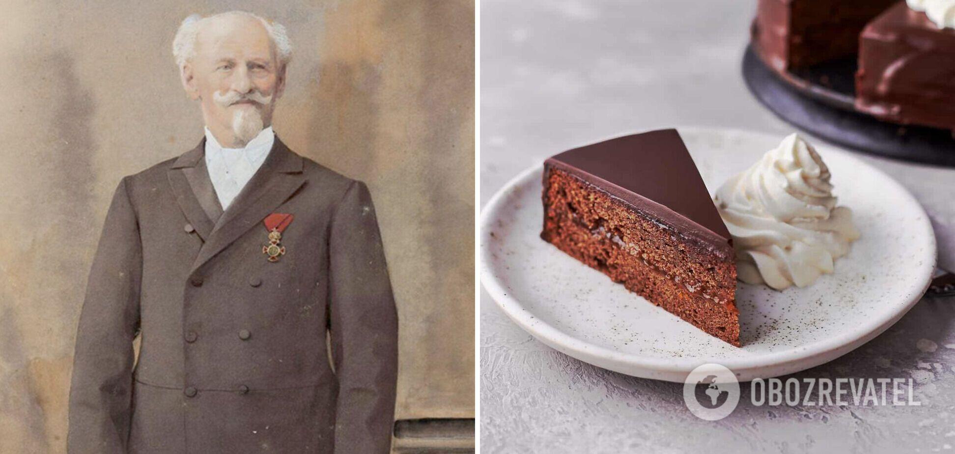 Історія та рецепт торта 'Захер'