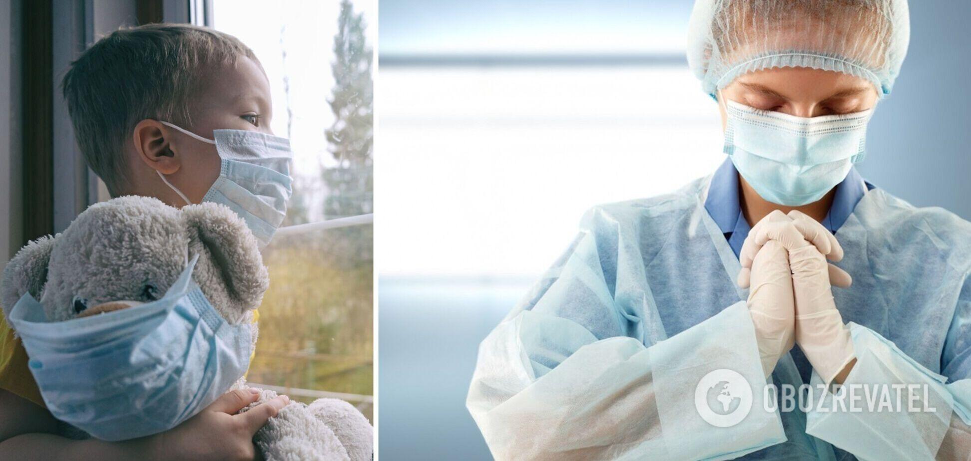 В Україні понад 10 тисяч дітей захворіли на коронавірус за 9 днів жовтня