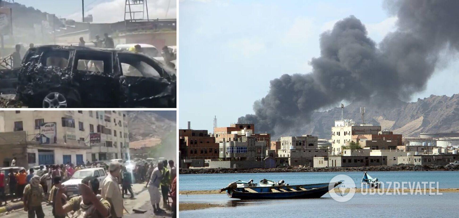 У Ємені влаштували вибух на шляху урядового кортежу: є загиблі