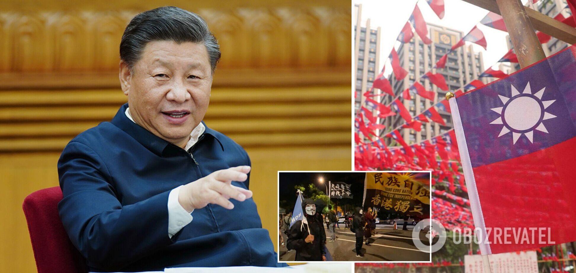 Китай готується поглинути Тайвань: Цзіньпін закликав до мирного 'возз'єднання'