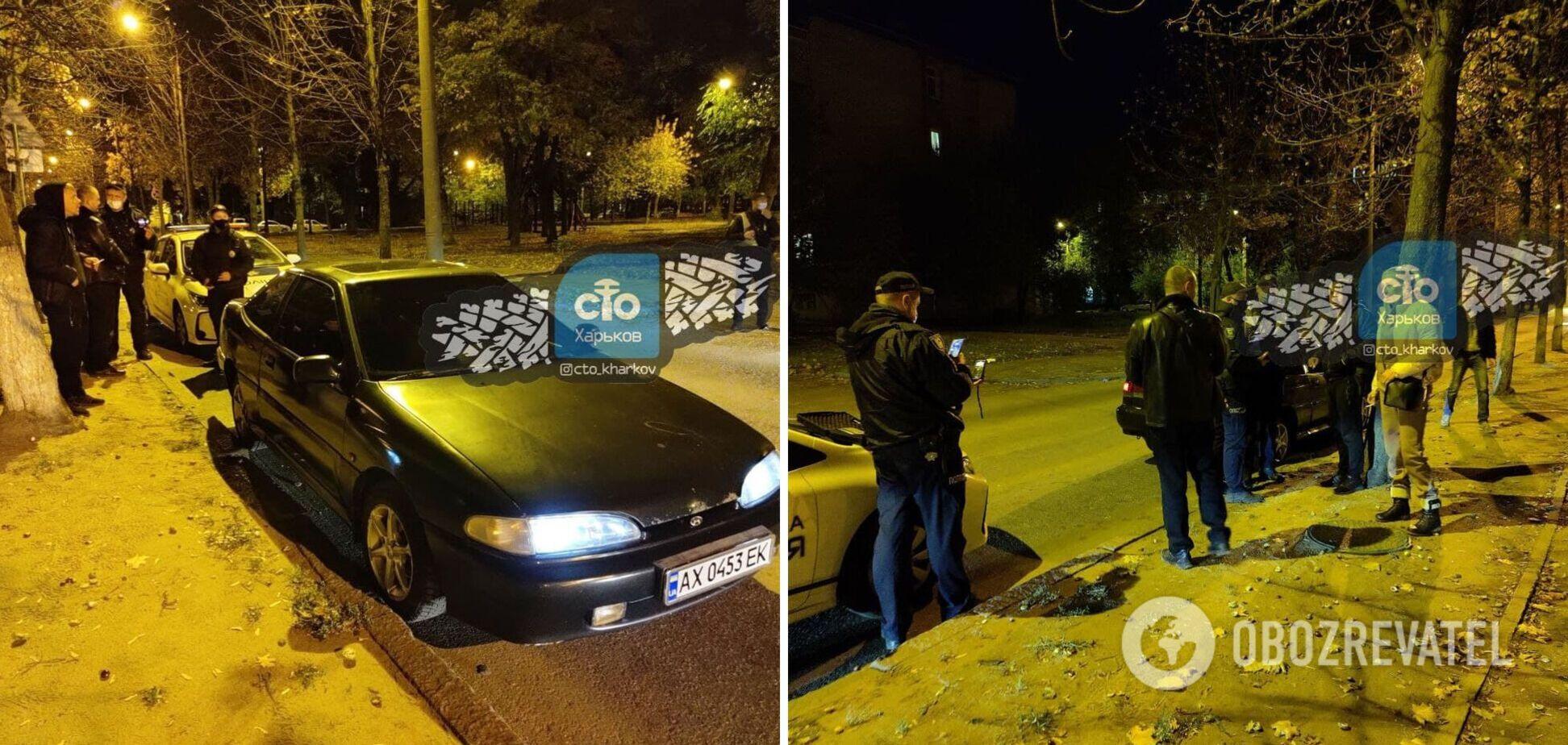 В Харькове задержали пьяного водителя