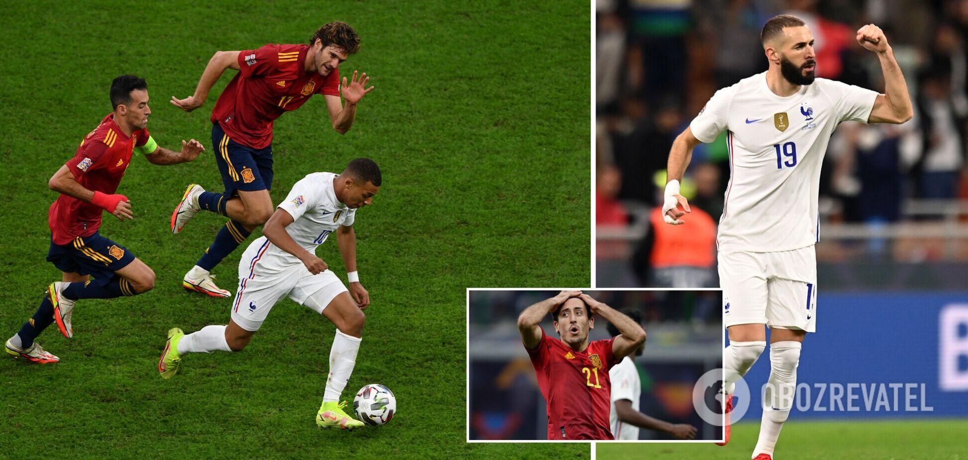 Франція перемогла Іспанію у фіналі Ліги націй