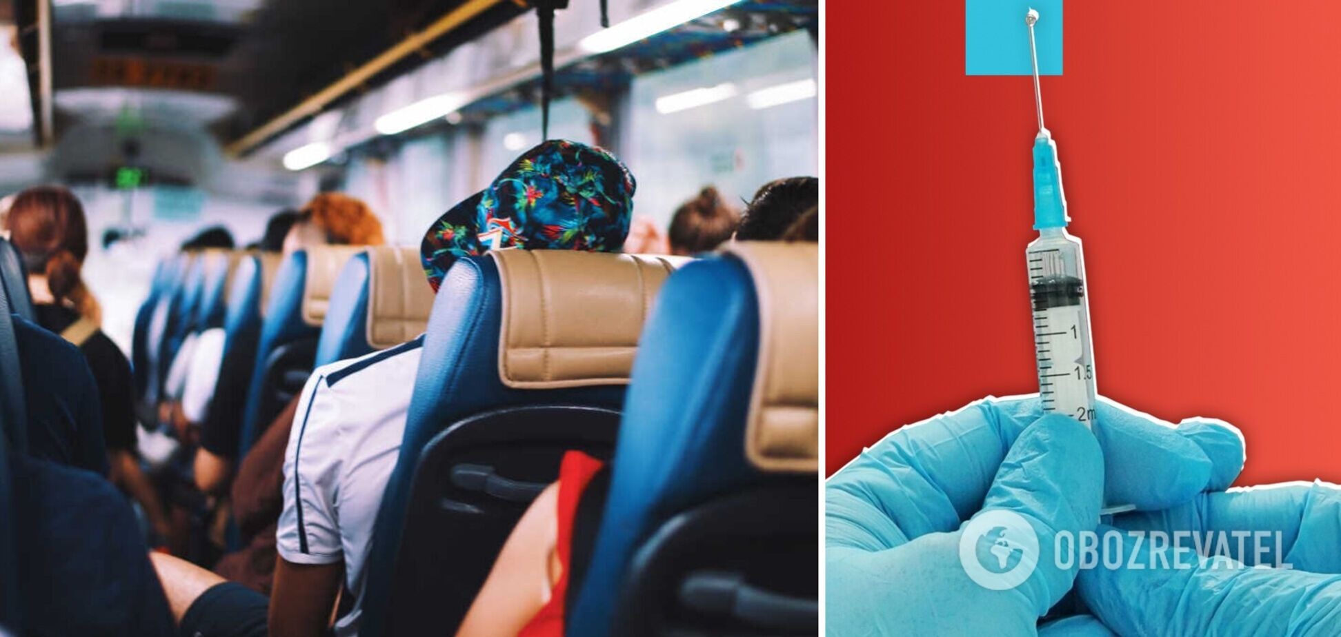 Кабмін посилив обмеження для поїздок у громадському транспорті: невакцинованих не пустять в автобуси і поїзди