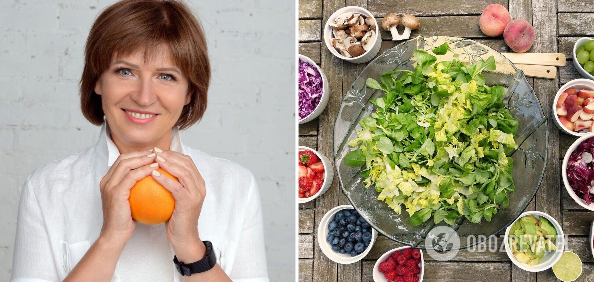 Світлана Фус назвала продукти-антиоксиданти