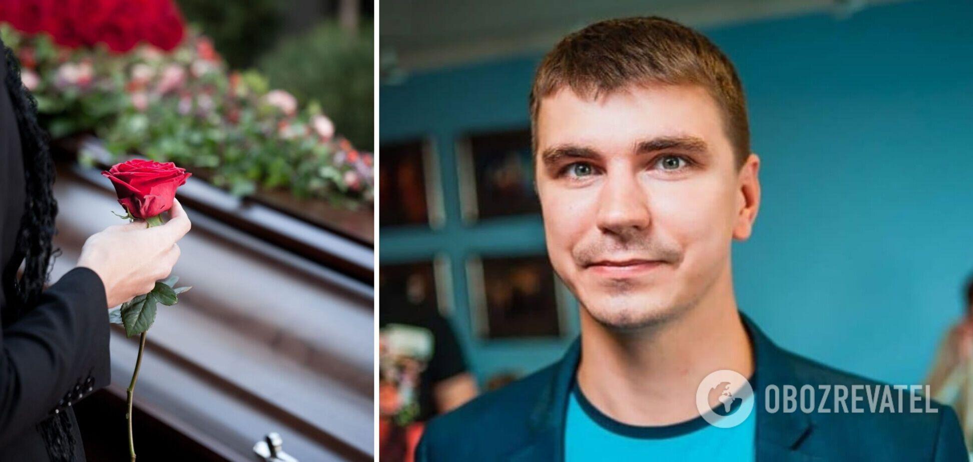 В Чернигове похоронили нардепа Антона Полякова. Фото, видео и все подробности